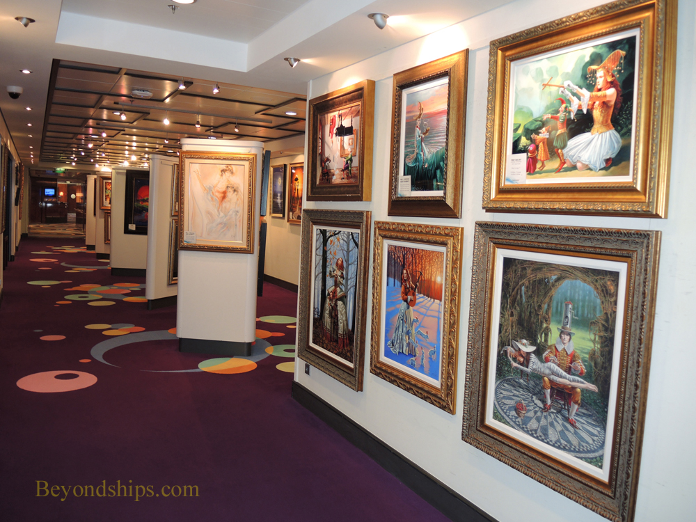 Norwegian Gem, art gallery