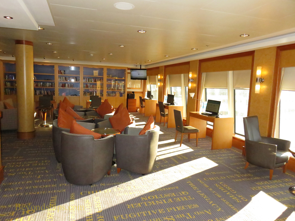 Norwegian Gem, library