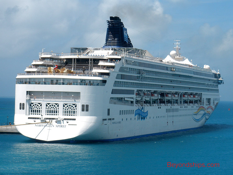 Cruise ship Norwegian Spirit