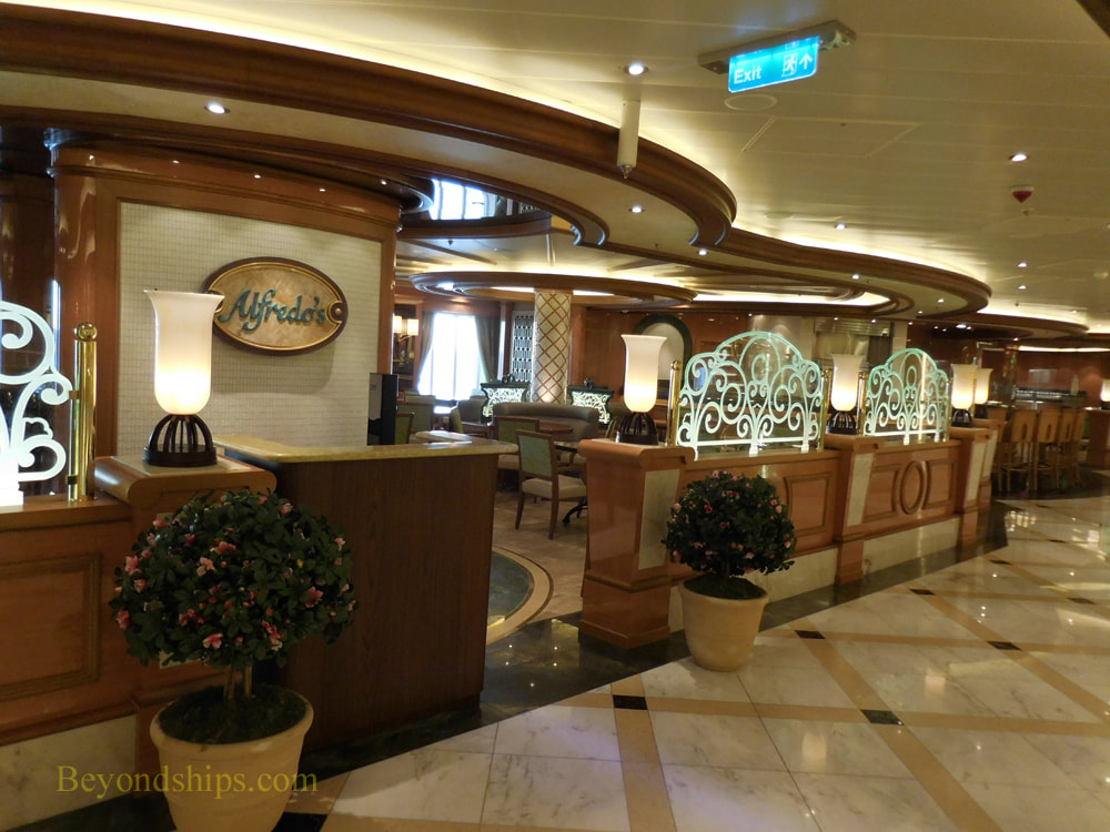 Cruise ship Regal Princess casual dining venues